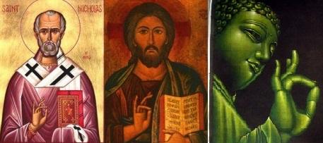 Jóga mudra a keresztény ikonográfiában