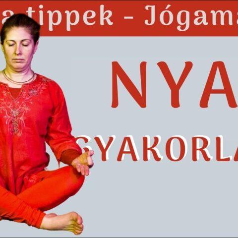 Nyakgyakorlatok - nyak nyújtó gyakorlatok Szabó Szilvia Jógamájával
